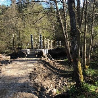 Passerelle suspendue - Arsac en Velay - Passerelles 43