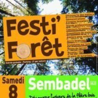 Tyrolienne événementiel Festi Forêt - Sembadel - Passerelles 43