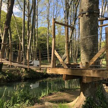 Entretien et rénovation passerelle bois - Passerelles 43 - Uzes